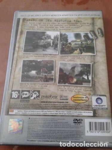 Videojuegos y Consolas: JUEGO DE PLAYSTATION 2 'BROTHERS IN ARMS ROAD TO HILL 30' - Foto 3 - 190706700
