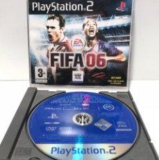 Videojuegos y Consolas: FIFA 06 DISCO PROMOCIONAL PLAYSTATION 2 PS2. Lote 190795371
