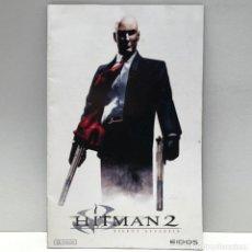 Videojuegos y Consolas: MANUAL HITMAN 2: SILENT ASSASSIN PLAYSTATION 2 PS2. Lote 190795960