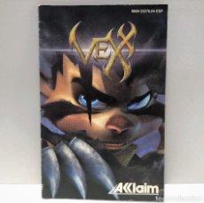 Jeux Vidéo et Consoles: MANUAL VEX PLAYSTATION 2 PS2. Lote 190796208