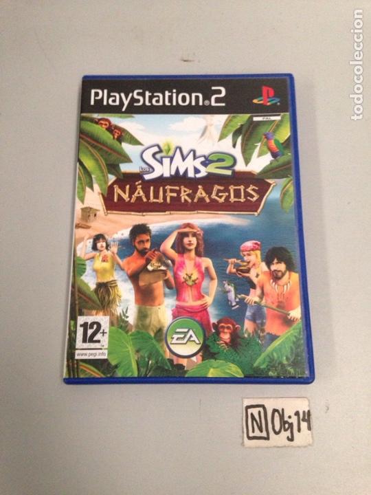 SIMS 2 NÁUFRAGOS (Juguetes - Videojuegos y Consolas - Sony - PS2)