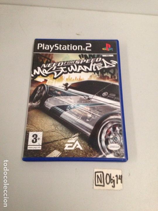 NEED FOR SPEED (Juguetes - Videojuegos y Consolas - Sony - PS2)