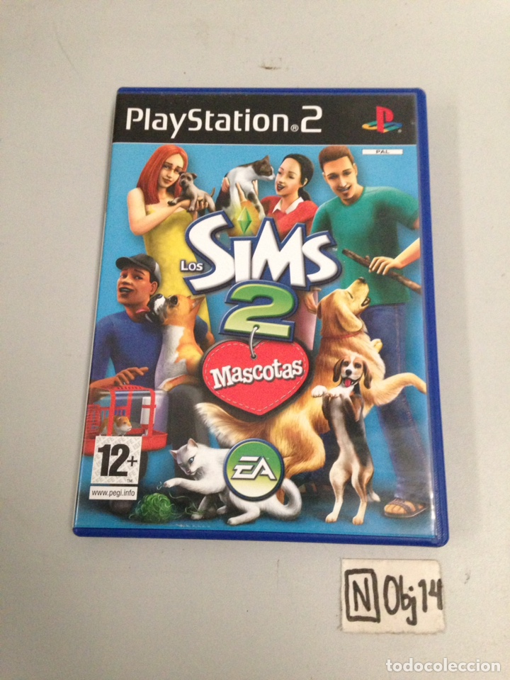 SIMS 2 MASCOTAS (Juguetes - Videojuegos y Consolas - Sony - PS2)