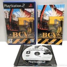 Videojuegos y Consolas: BCV: BATTLE CONSTRUCTION VEHICLES PLAYSTATION 2 PS2. Lote 191097908