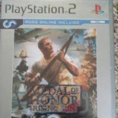 Videojuegos y Consolas: JUEGO PS2 MEDAL OF HONOUR 2ª GUERR MUNDIAL . Lote 191108693