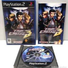Videojuegos y Consolas: TIME CRISIS 3 PLAYSTATION 2 PS2. Lote 191155416