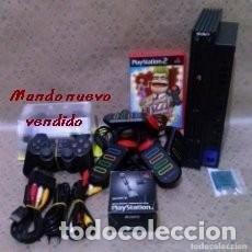 Videojuegos y Consolas: PLAYSTATION 2 + ACCESORIOS (COMPLETA Y FUNCIONANDO) + JUEGOS.. Lote 120574639