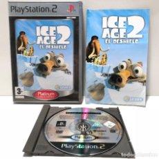 Videojuegos y Consolas: ICE AGE 2 EL DESHIELO PLAYSTATION 2 PS2. Lote 191349553
