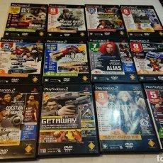 Videojuegos y Consolas: GRAN LOTE 11 DEMOS PLAYSTATION 2 (CASTLEVANIA, METAL GEAR SOLID 3...) PS2. Lote 191428323