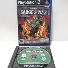 Videojuegos y Consolas: ARMY MEN: SARGE'S WAR PLAYSTATION 2 PS2. Lote 191458171
