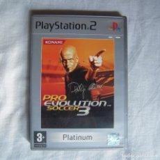 Videojuegos y Consolas: PRO EVOLUCION SOCCER 3 PLAYSTATION 2 VERSION PAL PARA ESPAÑA. Lote 191469906