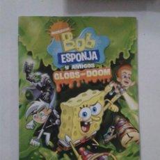 Videojuegos y Consolas: BOB ESPONJA Y AMIGOS. (SOLO MANUAL). Lote 191488890