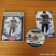 Videojuegos y Consolas: CALL OF DUTY WORLD AT WAR FINAL FRONTS, VIDEOJUEGO PLAYSTATION 2 SONY PLAY PS2 PAL ESPAÑA. Lote 191555151
