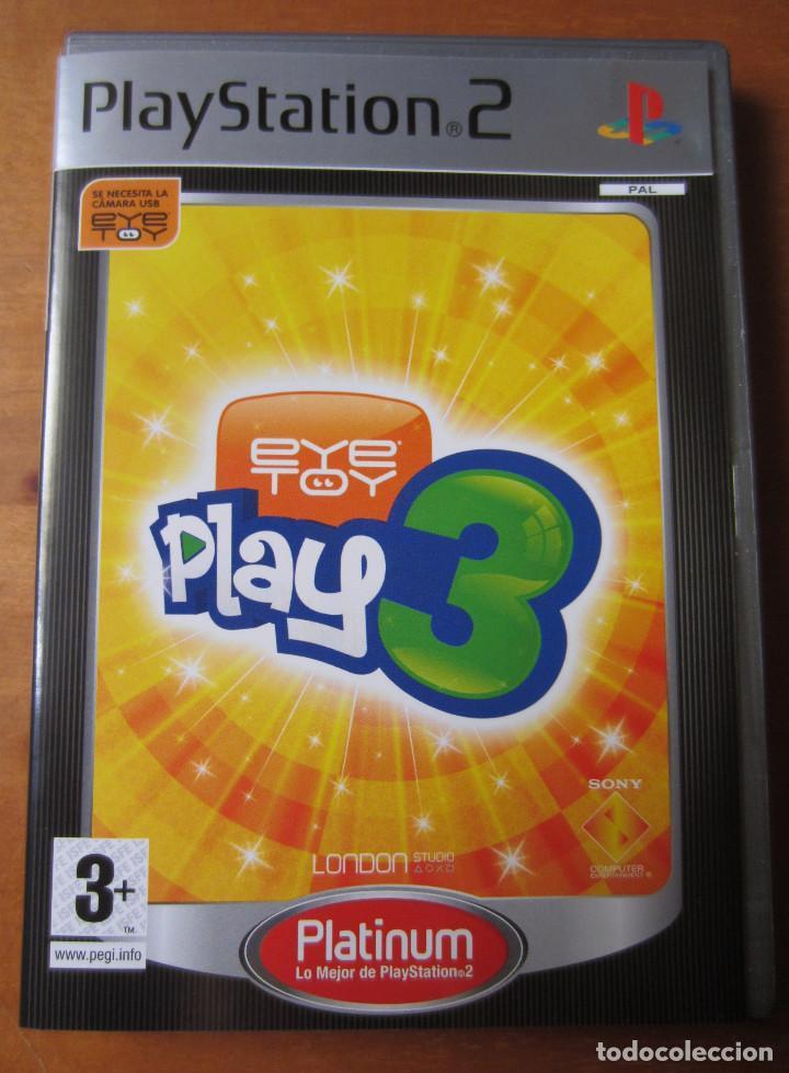 EYE TOY PLAY 3 (PLAYSTATION 2) (REQUIERE CAMARA) (Juguetes - Videojuegos y Consolas - Sony - PS2)
