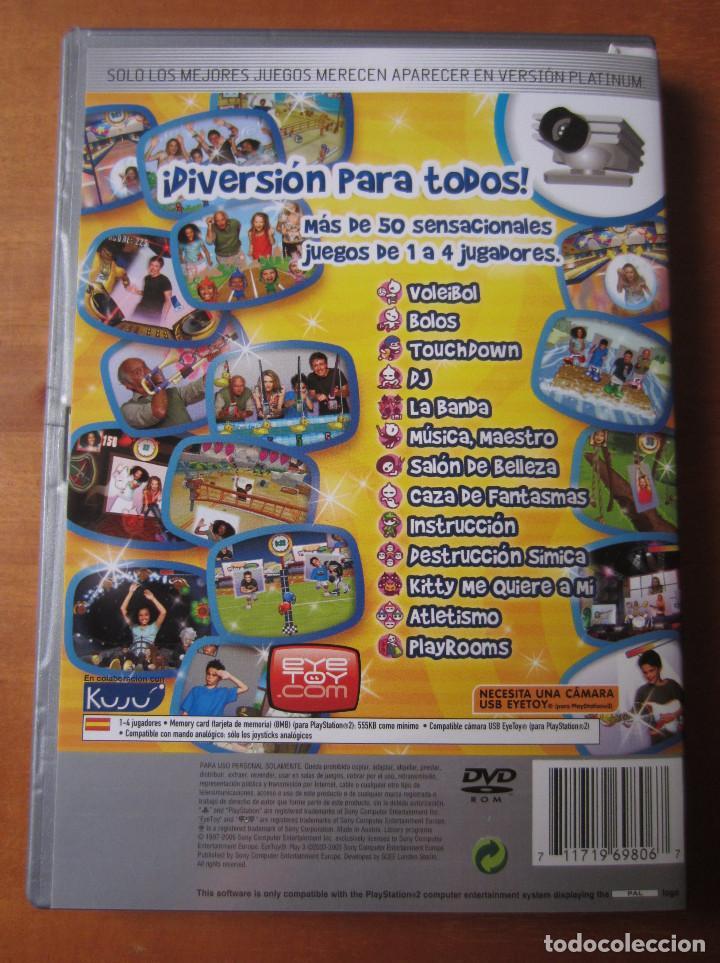 Videojuegos y Consolas: Eye Toy Play 3 (Playstation 2) (Requiere Camara) - Foto 2 - 191594517
