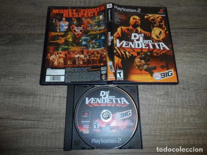 PS2 DEF JAM VENDETTA NTSC-USA SIN MANUAL (Juguetes - Videojuegos y Consolas - Sony - PS2)