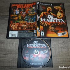 Videojuegos y Consolas: PS2 DEF JAM VENDETTA NTSC-USA SIN MANUAL. Lote 191624236