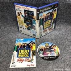 Videojuegos y Consolas: HIGH SCHOOL MUSICAL SING IT SONY PLAYSTATION PS2. Lote 192109945