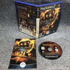 Videojuegos y Consolas: EL SEÑOR DE LOS ANILLOS LA TERCERA EDAD SONY PLAYSTATION PS2. Lote 192109997