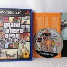 Jeux Vidéo et Consoles: JUEGO PLAYSTATION 2 GRAND THEFT AUTO SAN ANDREAS. Lote 152844270