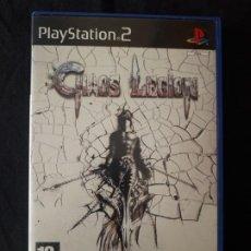 Videojuegos y Consolas: CHAOS LEGION - SONY PLAYSTATION 2 - PS2 - PAL - COMPLETO - CAPCOM - DIFICIL. Lote 193390943