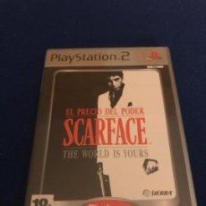 Videojuegos y Consolas: SCARFACE (EL PRECIO DEL PODER) PLAYSTATION 2 PAL ESPAÑA COMPLETO PLATINUM. Lote 193405442