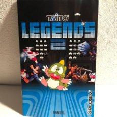 Videojuegos y Consolas: MANUAL TAITO LEGENDS 2 PLAYSTATION 2 PS2. Lote 193624790