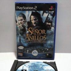 Videojuegos y Consolas: EL SEÑOR DE LOS ANILLOS, LAS DOS TORRES PLAYSTATION 2 PS2. Lote 193670173