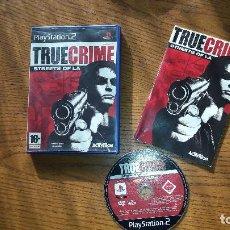 Videojuegos y Consolas: JUEGO PLAY 2 TRUE CRIME STRETS OF LA. Lote 193720921
