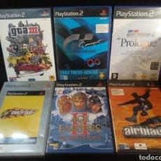 Videojuegos y Consolas: LOTE DE 6 JUEGOS DE PLAYSTATION II, PS2.. Lote 193748433