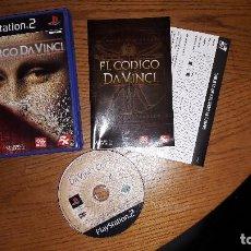 Videojuegos y Consolas: JUEGO PLAY 2 EL CODIGO DA VINCI. Lote 193821145