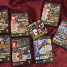 Videojuegos y Consolas: LOTE 8 DVDS CON DEMOS PS2. Lote 193881606