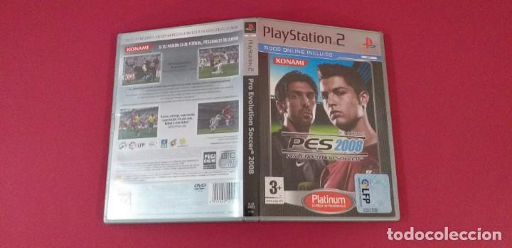 JUEGO PLAYSTATION 2 PS2 PRO EVOLUTION SOCCER 2008 (Juguetes - Videojuegos y Consolas - Sony - PS2)