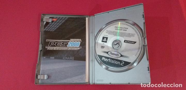 Videojuegos y Consolas: JUEGO PLAYSTATION 2 PS2 PRO EVOLUTION SOCCER 2008 - Foto 2 - 194059935
