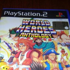 Videojogos e Consolas: WORLD HEORES ANTHOLOGY PS2 COMPLETO SNK PAL ITA. Lote 194121058