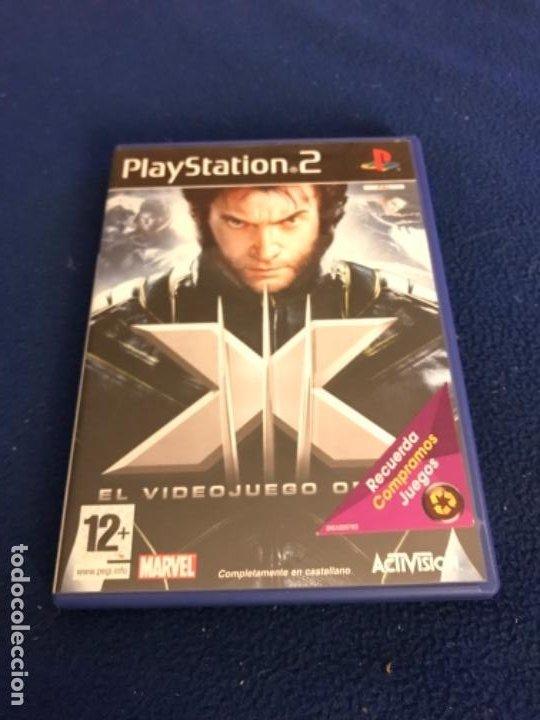 X-MEN COMPLETO PLAYSTATION 2 PAL ESPAÑA NUEVO PRECINTADO EL VIDEOJUEGO OFICIAL (Juguetes - Videojuegos y Consolas - Sony - PS2)