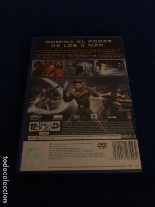 Videojuegos y Consolas: X-MEN Completo PLAYSTATION 2 Pal España NUEVO PRECINTADO El Videojuego Oficial - Foto 3 - 194127151