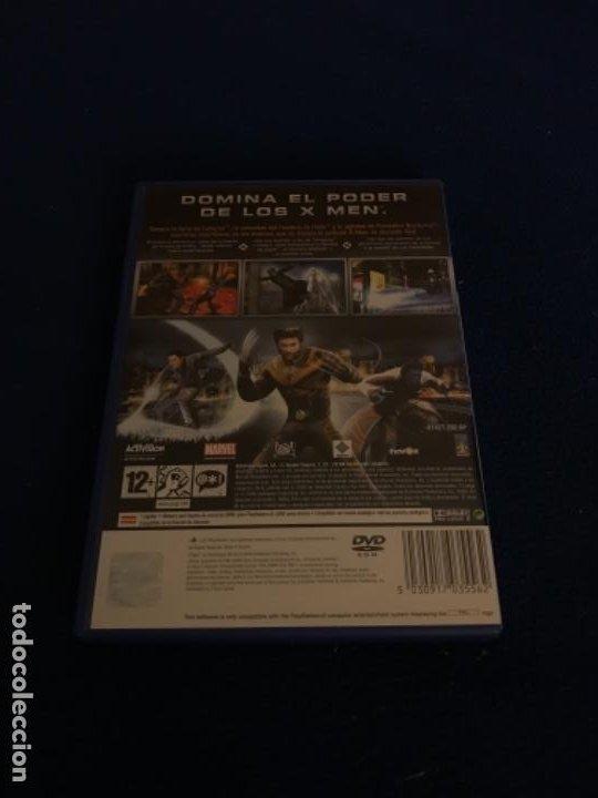 Videojuegos y Consolas: X-MEN Completo PLAYSTATION 2 Pal España NUEVO PRECINTADO El Videojuego Oficial - Foto 4 - 194127151