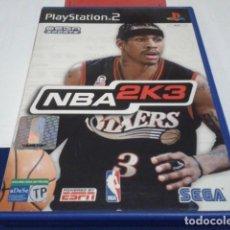 Videojuegos y Consolas: JUEGO SONY PLAY STATION PLAYSTATION PS2 PAL ( NBA 2K3 - CON LIBRETO ) 2002 VERSIÓN ESPAÑOLA. Lote 194253068
