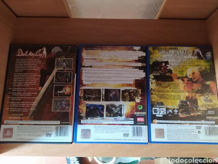Videojuegos y Consolas: Trilogía Devil May Cry PS2 - Foto 2 - 194321918