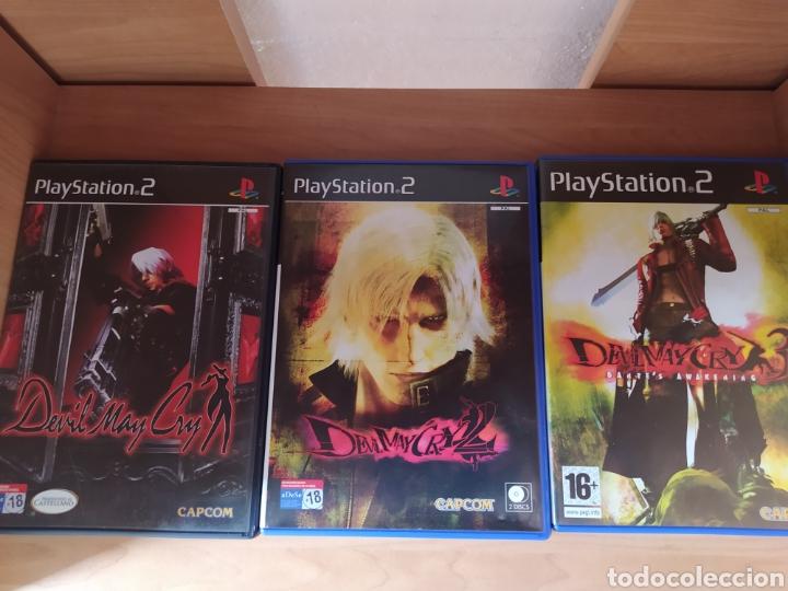 TRILOGÍA DEVIL MAY CRY PS2 (Juguetes - Videojuegos y Consolas - Sony - PS2)