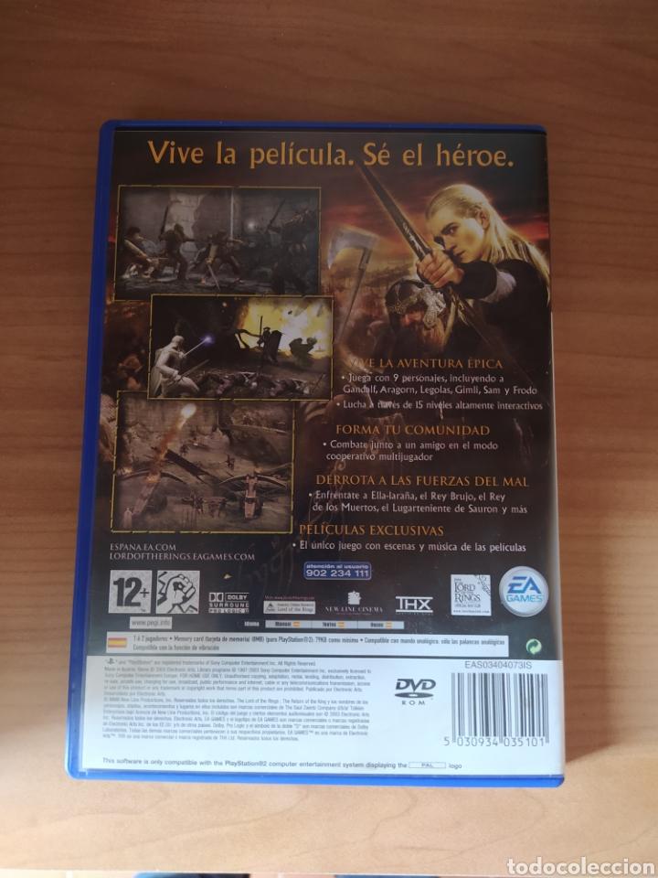 Videojuegos y Consolas: El señor de los anillos El retorno del Rey PS2 - Foto 3 - 194322363