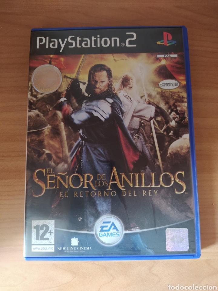 EL SEÑOR DE LOS ANILLOS EL RETORNO DEL REY PS2 (Juguetes - Videojuegos y Consolas - Sony - PS2)