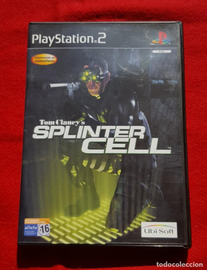 TOM CLANCY'S SPLINTER CELL PARA PLAYSTATION 2 (COMPLETO) (Juguetes - Videojuegos y Consolas - Sony - PS2)