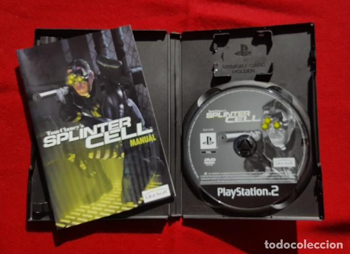 Videojuegos y Consolas: Tom Clancys Splinter Cell para Playstation 2 (Completo) - Foto 3 - 194343731