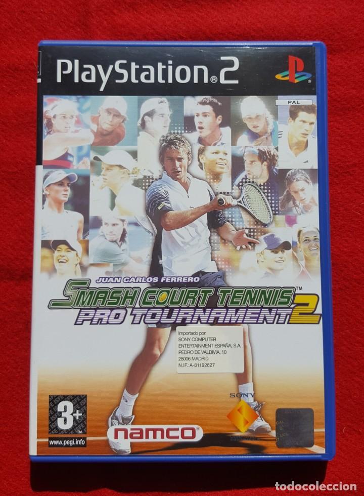 SMASH COURT TENNIS PRO TOURNAMENT 2 PARA PLAYSTATION 2 (COMPLETO) (Juguetes - Videojuegos y Consolas - Sony - PS2)