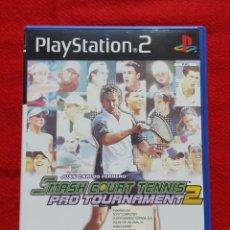 Videojuegos y Consolas: SMASH COURT TENNIS PRO TOURNAMENT 2 PARA PLAYSTATION 2 (COMPLETO). Lote 194343917