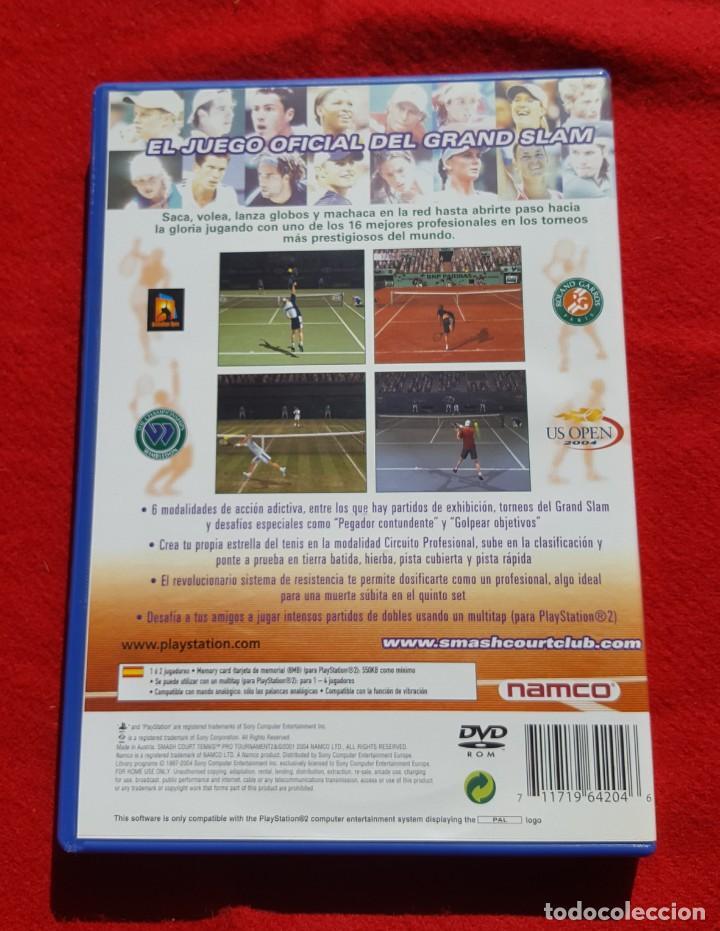 Videojuegos y Consolas: Smash Court Tennis Pro Tournament 2 para Playstation 2 (Completo) - Foto 2 - 194343917
