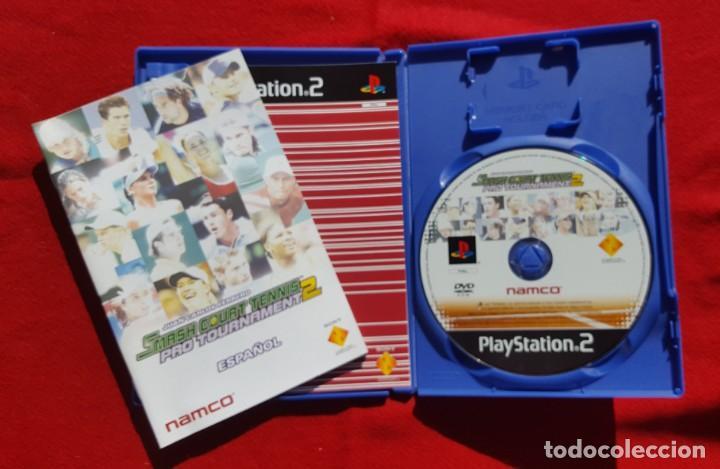 Videojuegos y Consolas: Smash Court Tennis Pro Tournament 2 para Playstation 2 (Completo) - Foto 3 - 194343917
