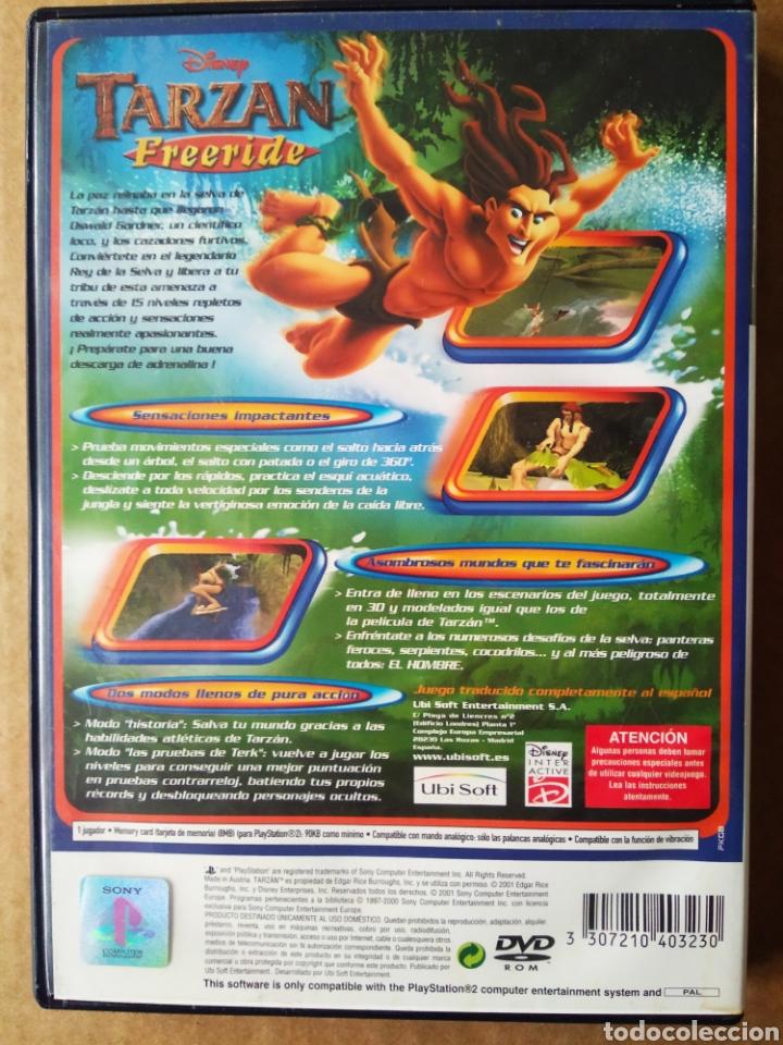 Videojuegos y Consolas: Juego PS2 PlayStation 2 Disney Tarzan Freeride (Ubisoft/Disney). En español. - Foto 2 - 194365477